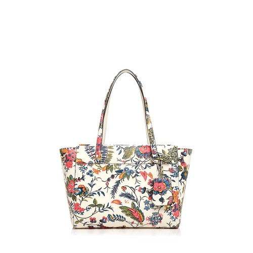 TORY BURCH Parker Floral Small Leather Tote