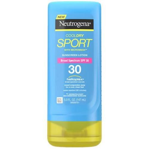 Neutrogena CoolDry Sport Sunscreen Lotion SPF 30