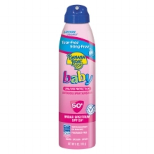 Banana Boat Baby Ultramist Continuous Spray Sunscreen, SPF 50+ Fragrance Free
