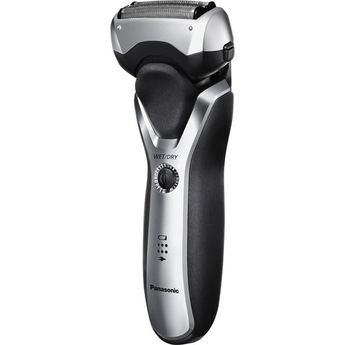 Panasonic - ARC3 Clean & Charge Wet/Dry Electric Shaver - Silver