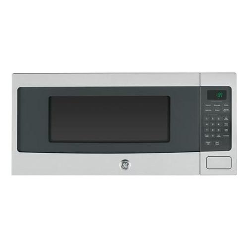 GE PEM31SFSS Profile 1.1 cu. Ft. Stainless Steel Countertop Microwave