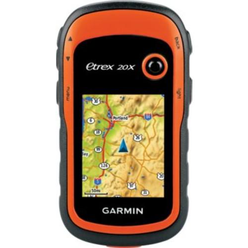 Garmin eTrex 20x Topo Handheld GPS Bundle