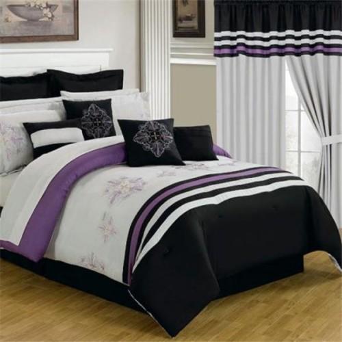 Lavish Home 25 Piece Room-In-A-Bag Rachel Bedroom Set