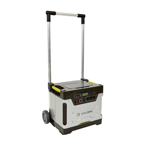 GOAL ZERO Yeti 1250 Solar Generator with Roll Cart
