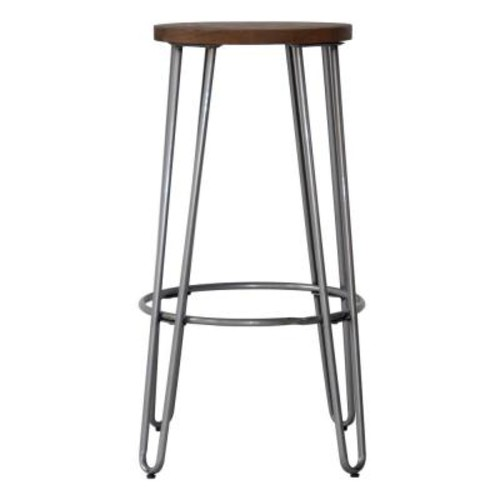 Ace Casual Furniture 23.82 in. Natural Bar Stool