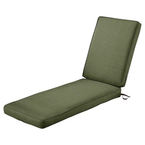 Montlake 2pc Patio Chaise Lounge Cushion Set - Classic Accessories
