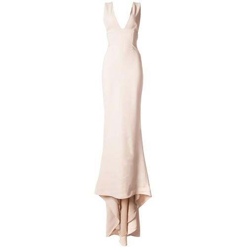 STELLA MCCARTNEY Plunging V-Neck Gown