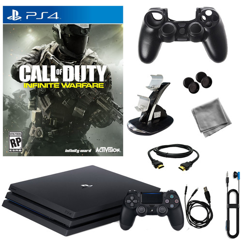 Sony PlayStation 4 Pro 1TB Console With Infinite Warfare & 8 in 1 Kit
