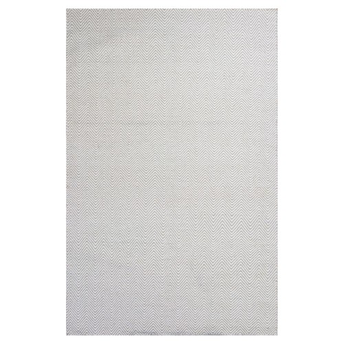 Kas Rugs Ivory Dhurrie Ivory 3 ft. 3 in. x 5 ft. 3 in. Area Rug