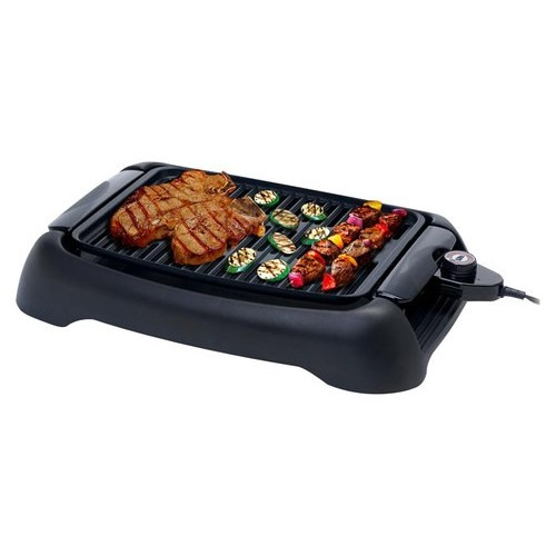 MaxiMatic EGL-3450 Elite Cuisine 13-Inch Countertop Non-Stick Electric Indoor Grill, Black [EGL-3450]