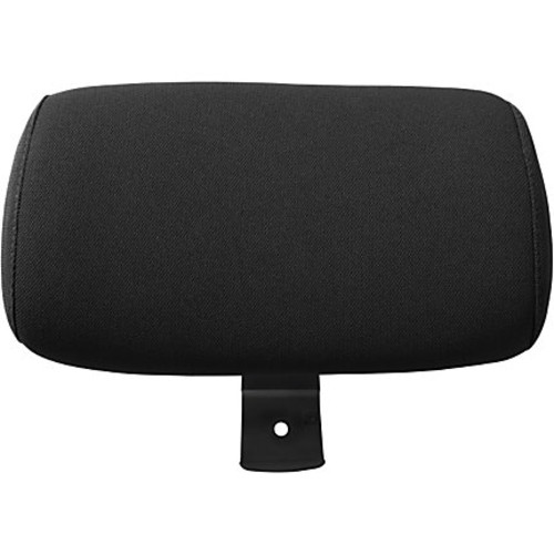 Lorell Executive High-Back Chairs Headrest - Black - Fabric - 1 Each