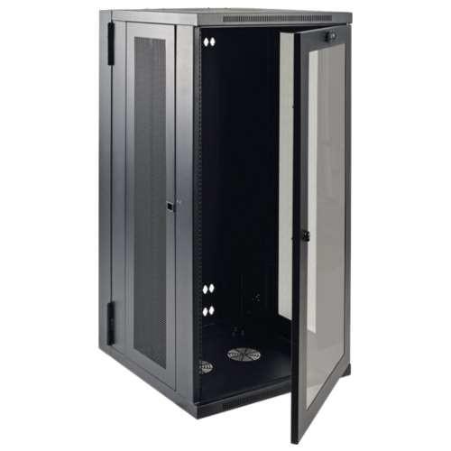 Tripp Lite 26U Wall Mount Rack Enclosure - Server Cabinet, Hinged Acrylic Window, 26U, 19