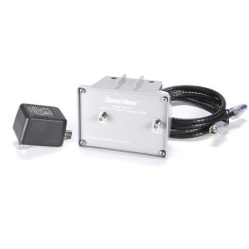 Channel Master 7777 High-gain mast-mount UHF/VHF TV antenna preamp