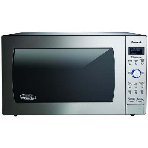 Panasonic 2.2 Cu. Ft. Built-In/Countertop Microwave Oven with Inverter Technology - Stainless Steel