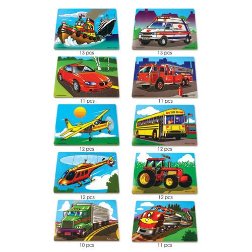Melissa & Doug Puzzle Set Favorite Vehicles
