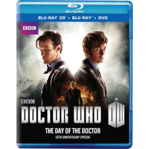 Doctor Who: The Day of the Doctor (Blu-ray + Blu-ray + DVD)