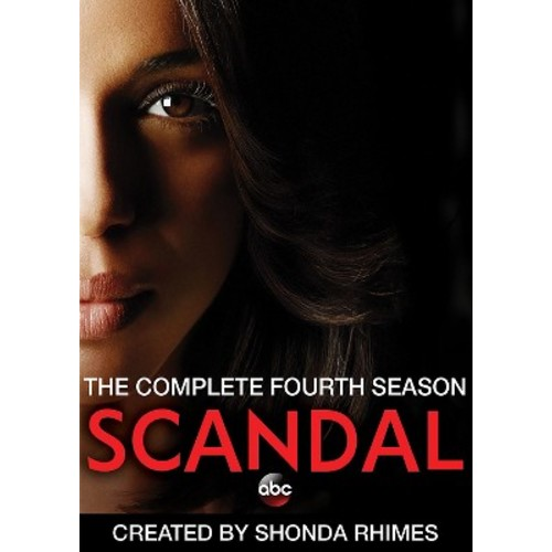 Scandal: The Complete Fourth Season [5 Discs] [DVD]