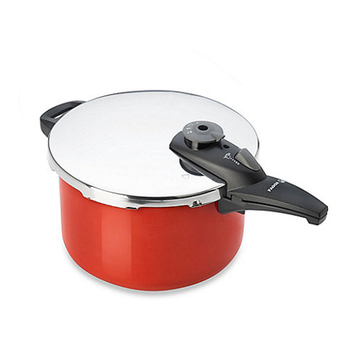 Fagor Cayenne 6-Quart Pressure Cooker in Red