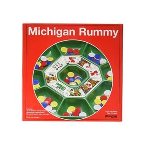 Pressman Toy Michigan Rummy