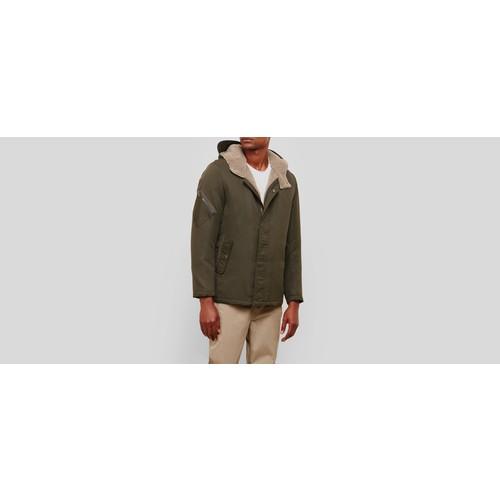Faux Sherpa Hooded Jacket