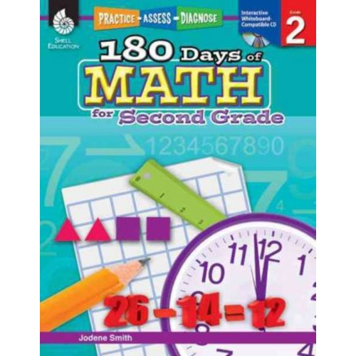 180 Days Of Math Book Jodene Smith For Second Grade