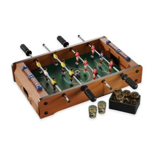 Game Night Foosball Table and Shot Glass Set