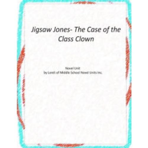 Jigsaw Jones- The Case of the Class Clown