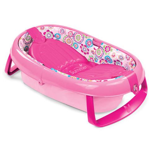 Summer Infant EasyStore Comfort Tub - Pink