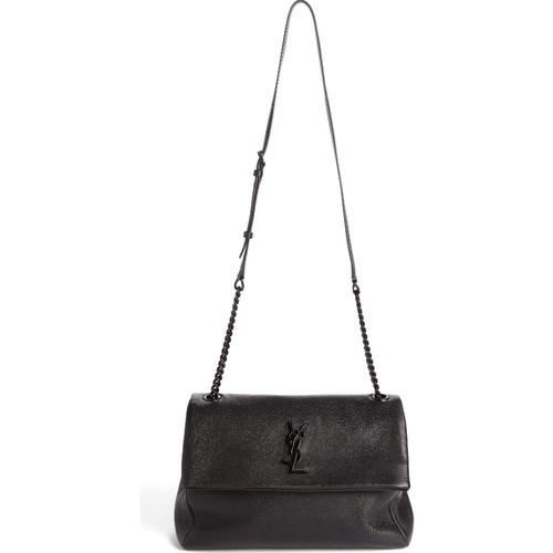 SAINT LAURENT Medium West Hollywood Leather Shoulder Bag