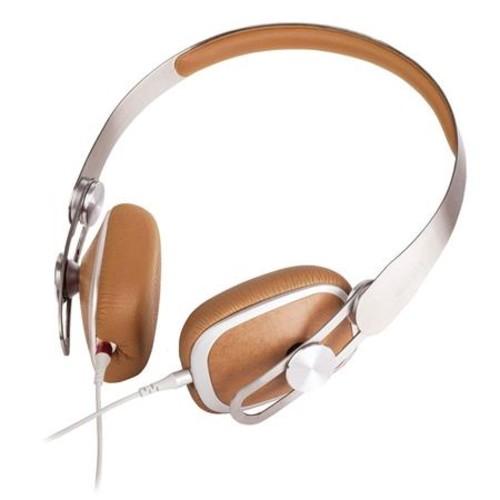 Moshi Avanti On-Ear Headphones with In-line Microphone, Caramel Beige 99MO035711