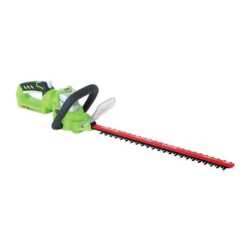 Greenworks 2200302 G-24 24V Cordless Lithium-Ion 22 in. Hedge Trimmer (Bare Tool)