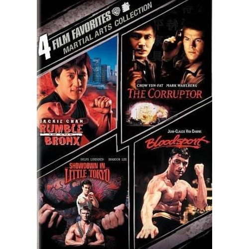4 Film Favorites: Martial Arts Collection (DVD)