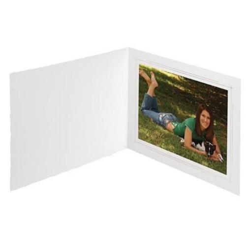 Picture Folder Frame Whitehouse, White / Gold, for 8x10