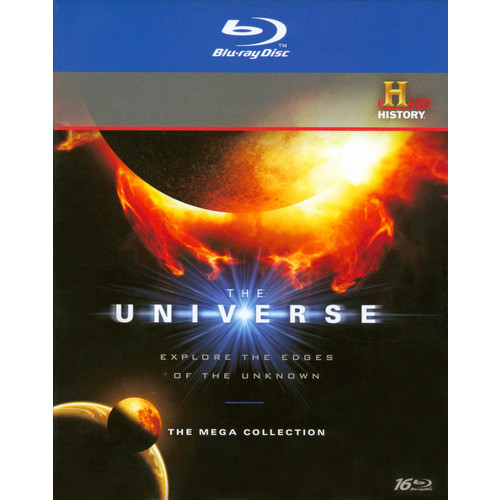 The Universe: The Mega Collection [16 Discs] [Blu-ray]