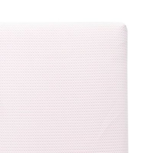 Lullaby Earth Breeze Breathable 2-Stage Crib Mattress in Pink