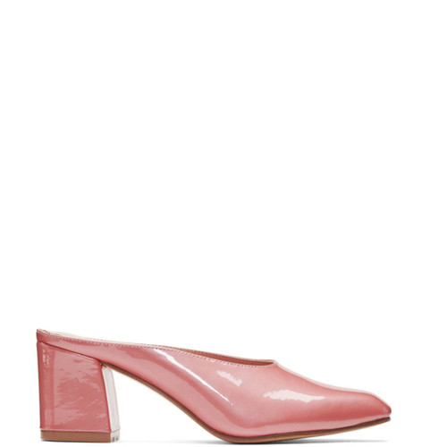 MARYAM NASSIR ZADEH Pink Patent Maryam Mules