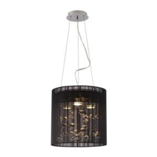 ZUO Subatomic 3-Light Black Ceiling Pendant