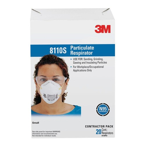 3M N95 Sanding Painted Surfaces Respirator Dust Mask (20-Pack)