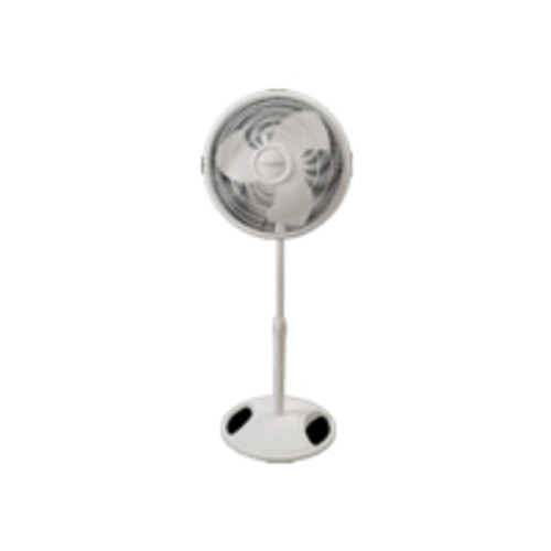 Lasko Products Lasko 16Inch Oscillating 3Speed Adjustable Stand Fan, White
