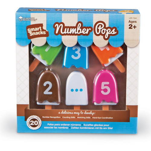 Learning Resources Smart Snacks Numberpops