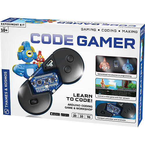 Thames & Kosmos Code Gamer: Arduino Coding Game and Workshop