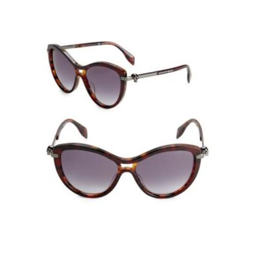 Alexander McQueen - Gradient 57MM Cat Eye Sunglasses