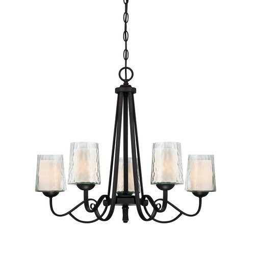 Quoizel Downtown Pendant in Polished Chrome [5 light]