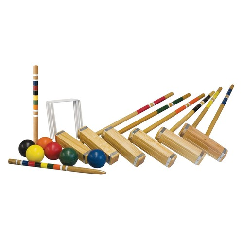 Franklin Advanced 6 Player Croquet Set