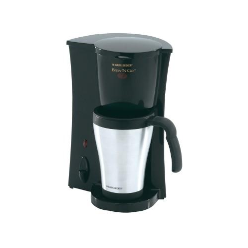 Black & Decker Single Cup Coffee Maker (DCM18S-0)