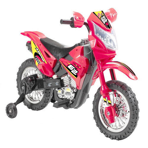 Best Ride On Cars Bicycles, Ride-On Toys & Scooters Best Ride On Cars Mini Dirt Bike w/ Headlight Red