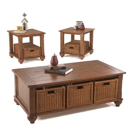 Klaussner Furniture Coffee, Console, Sofa & End Tables Made to Order Treasures Brown Sofa TV Table