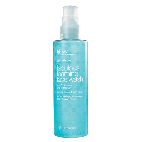 Bliss fabulous foaming face wash [7 oz (198 ml)]