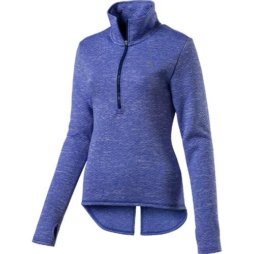 Puma Women's Nocturnal 1/4 Zip Long Sleeve Shirt
