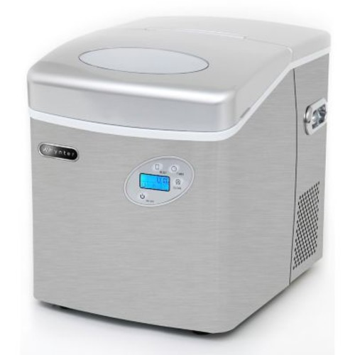 Whynter Portable Ice Maker with Direct Water Connection 49lb Capacity Stainless Steel (IMC-491DC)